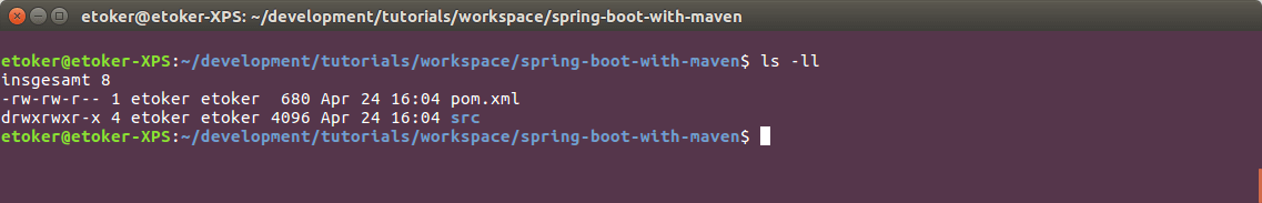 Spring Boot | Create Spring Boot Projects with Apache Maven