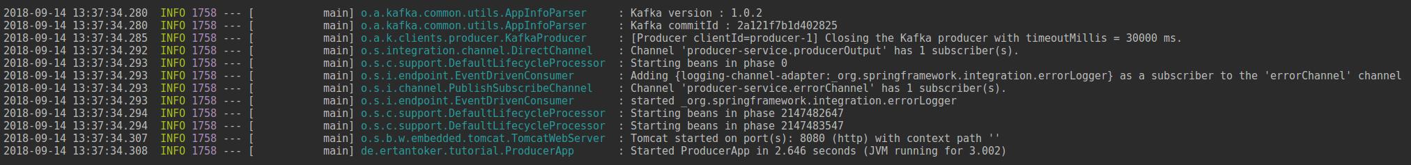 Spring Boot | Microservicekommunikation mit Apache Kafka